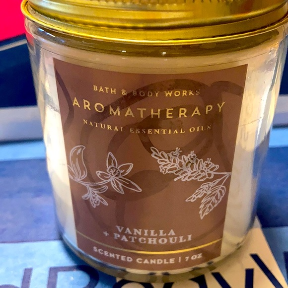 B&BW Vanilla + Patchouli Candle